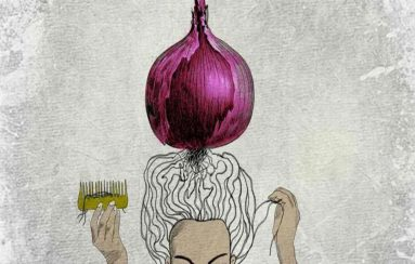 onion for regrowth hair telugu